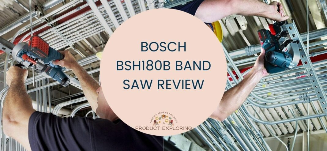 Bosch BSH180B Band Saw Review